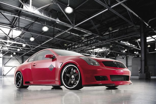 Seeing Red: 2006 Infiniti G35 Coupe