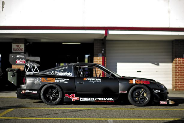 Thunder from Down Under: Simon Podlewski's Nissan 2JZGTE180SX