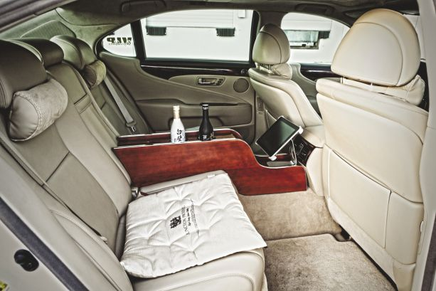 Urban Royalty: Wald Lexus LS460L