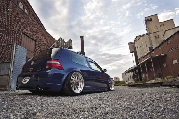 Transformed: 2002 Volkswagen Golf GTI