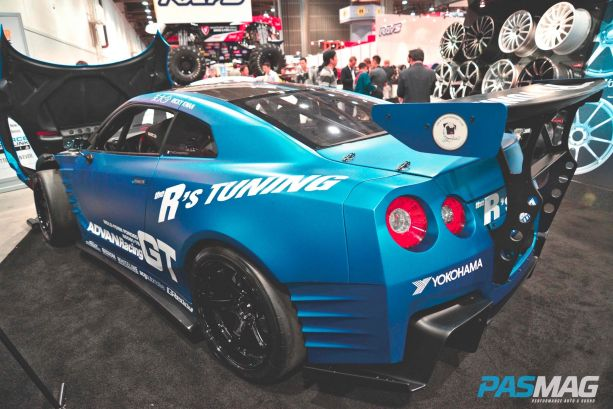 The R's Tuning Nissan GT-R built for Fast & Furious 6 Movie