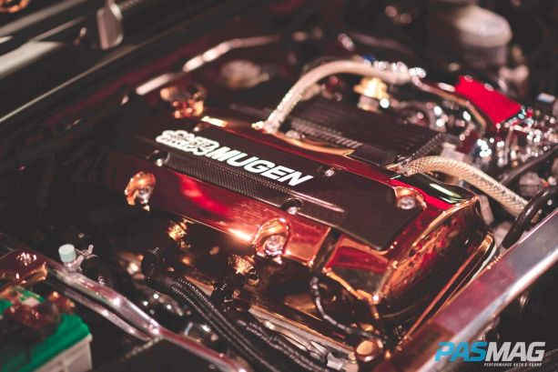 It might just be an engine, but Mugen = love.