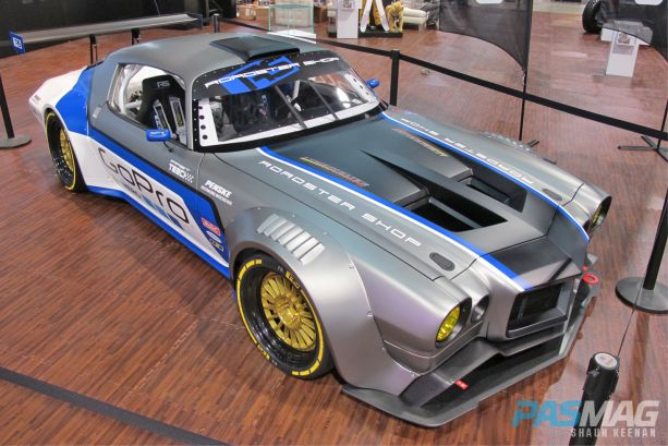 SEMA 2014 Las Vegas Gran Turismo Awards Best Asian Import Garrett GReddy Nissan GTR