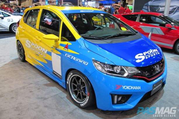 SEMA 2014 Las Vegas Honda Fit Challenge Spoon Sports Super Taikyu