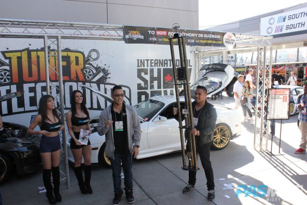 PASMAG Tuner Battlegrounds 2014 Battle for SEMA Award Ceremony Anthony