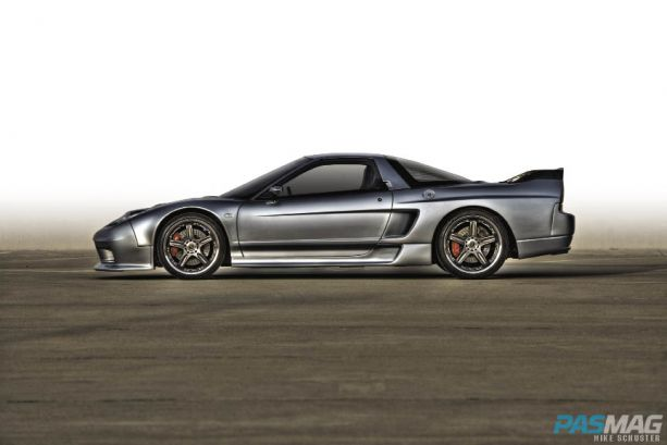 PASMAG Ron Warnick 1991 Acura NSX CompTech AEM Volk Racing Bridgestone Brembo JDM JL Audio Alpine Kinetic side