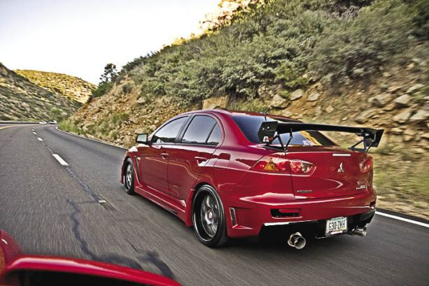 Border Run: Vivid Racing's 2008 Mitsubishi Evolution X