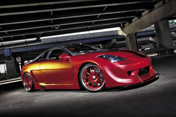 Back in Time: Pete Colello's Widebody 2002 Toyota Celica