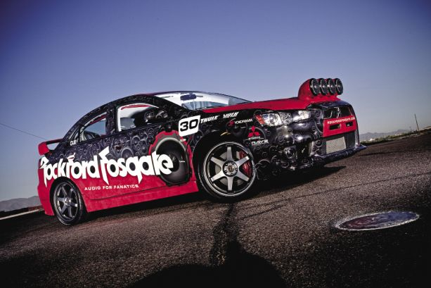 Rock Steady: Rockford Fosgate's 2008 Mitsubishi Lancer Evolution MR