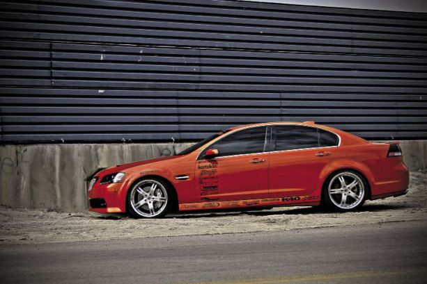 Copperhead: Michael Passarge's 2008 Pontiac G8/GT Team Hybrid Las Vegas Nevada Arc Audio Stinger