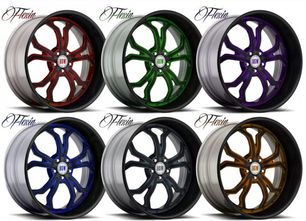 PASMAG USW Forged Wheels