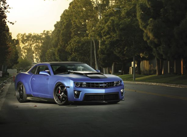 Red and White, Black and Blue: 2011 Chevrolet Camaro SS