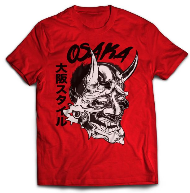 OsakaStyle T Shirt ShockerJoe