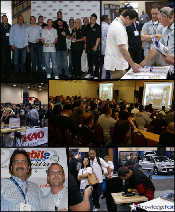 PASMAG KnowledgeFest 2014 Dallas Texas MERA Mobile Electronics Car Audio Conference Event Collage
