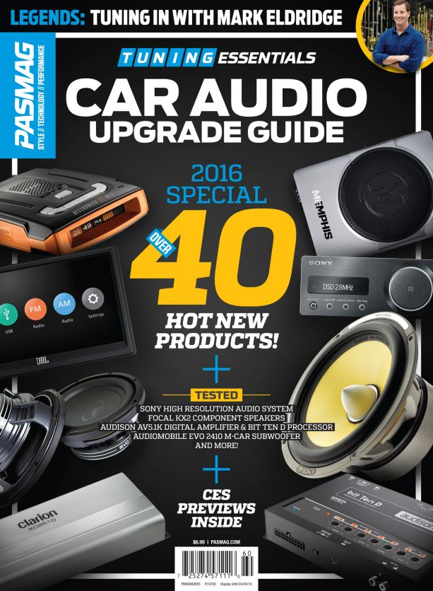 PASMAG Tuning Essentials Car Audio 5 Cover USA