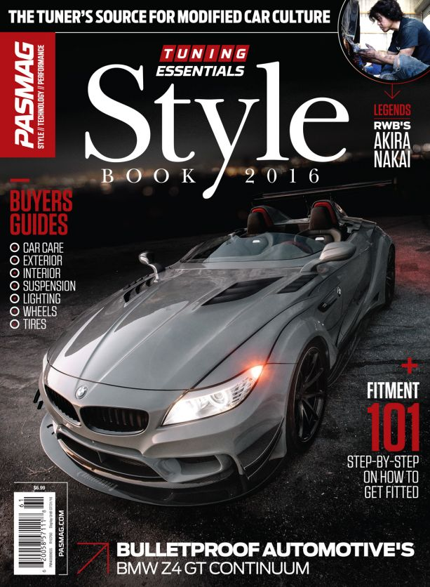 PASMAG 2016 Tuning Essentials Style Book 3rd Edition Cover