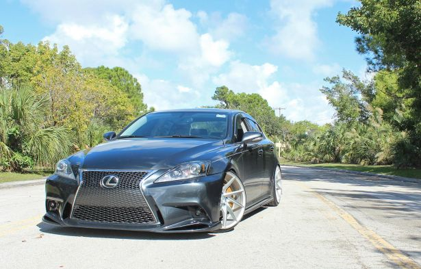 NIA Auto Design Lexus 3 IS Bumper Conversion