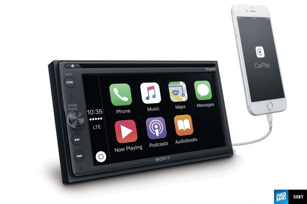 XAV AX200 UC CarPlay Angle