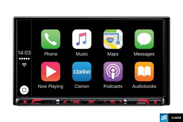Clarion NX807 US Carplay