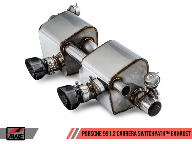 AWE Tuning Switchpath Exhaust Porsche PASMAG