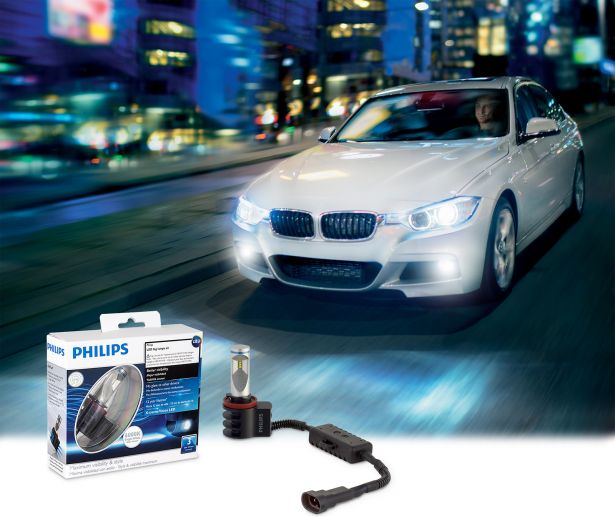 Philips Style Car with foglights and package
