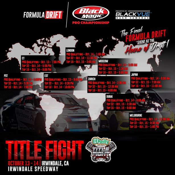 Formula Drift Roud 8 WorldMap