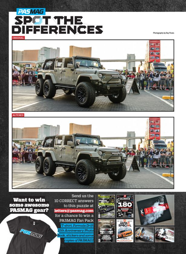 PASMAG Spot The Difference Trucks Vol 8