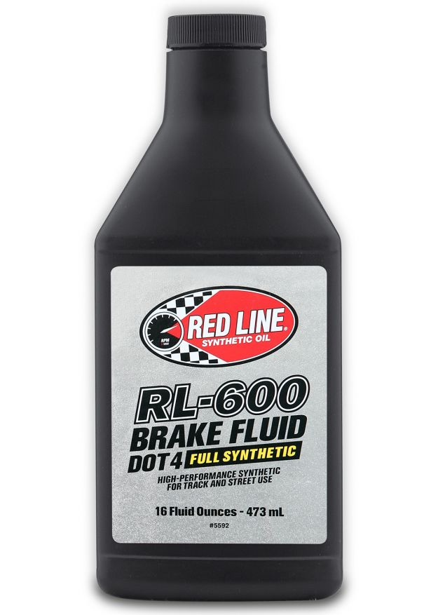 Red Line Synthetic Oil RL 600 DOT4 Full Synthetic Brake Fluid pasmag