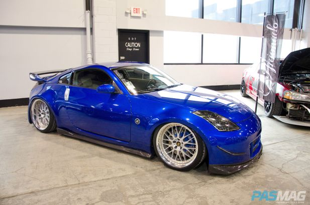 PASMAG Tuner Galleria Chicago Illinois 2014 Ray Flores TeamIC Nissan 350Z