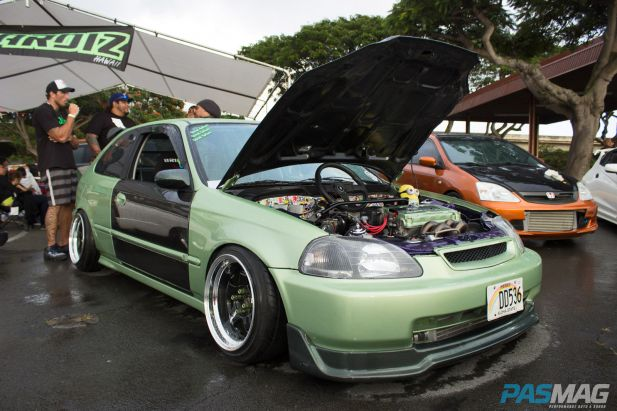 PASMAG Traffic2 Honolulu Hawaii GraspingParadisePhotography EK Honda Civic Hatchback