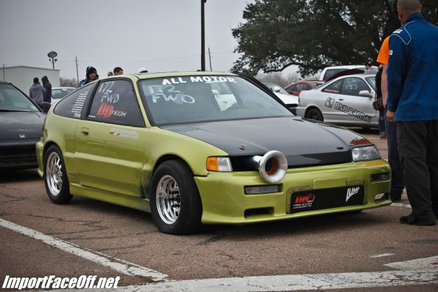 PASMAG - Import Face-Off In Baytown TX On Feb 9 2014 - All Motor Honda CRX