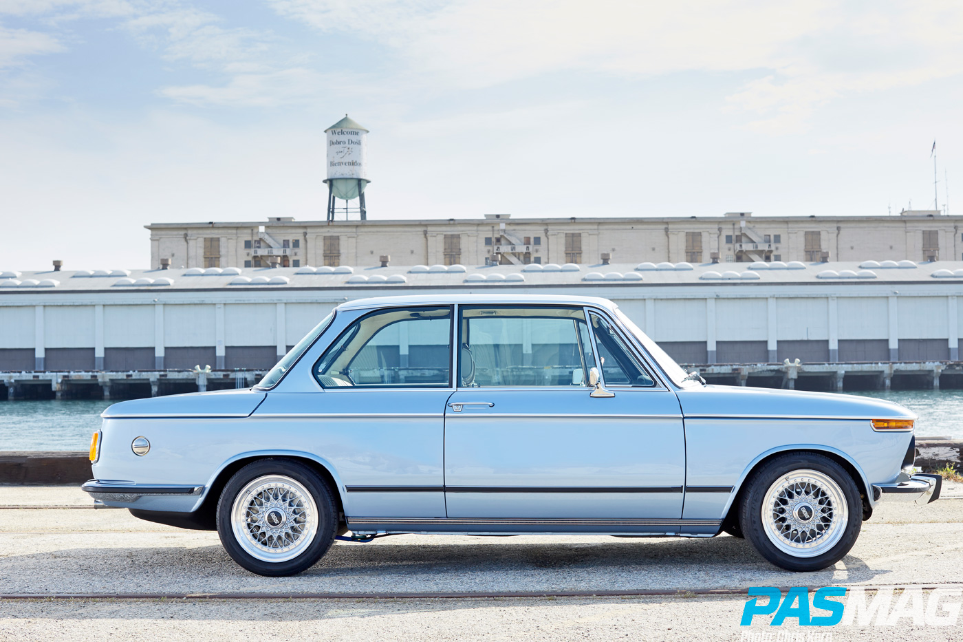 Aught Two: Clarion Builds' Iconic Restoration - 1974 BMW 2002 (Photo by Chris Kern)