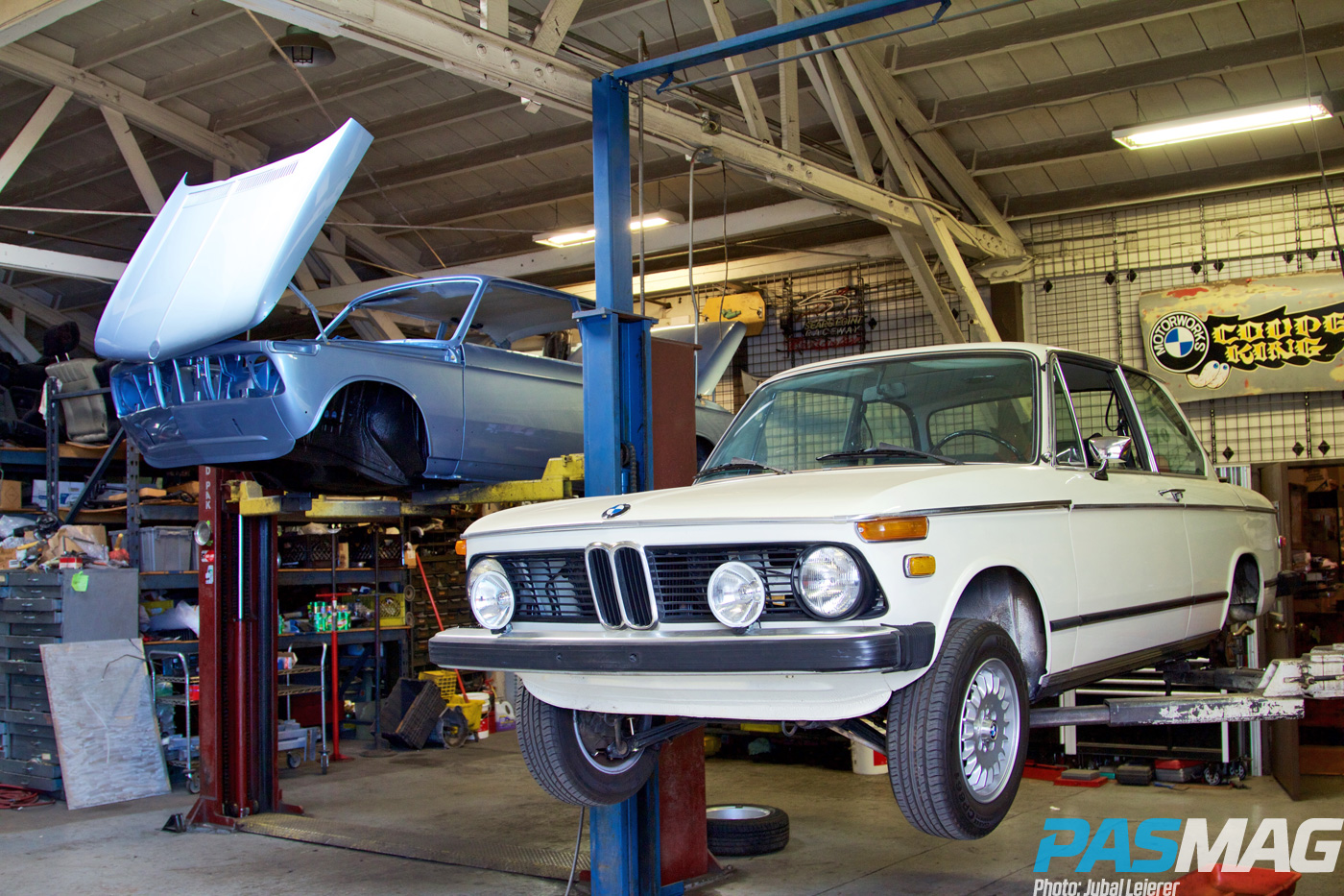 Aught Two: Clarion Builds' Iconic Restoration - 1974 BMW 2002 (Photo by Jubal Leierer)