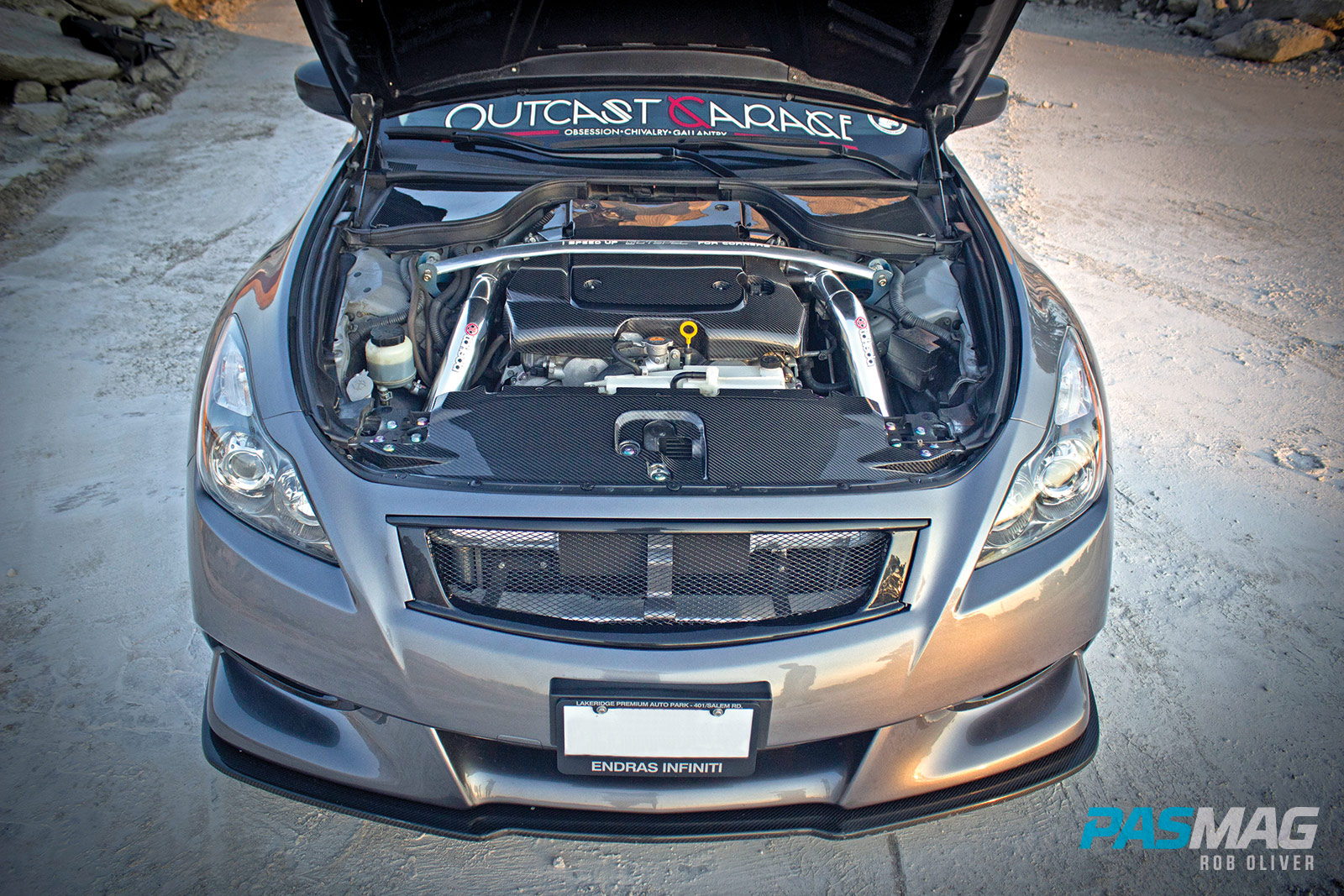 To Infiniti and Beyond: Daren Singh's 2012 Infiniti G37 Coupe