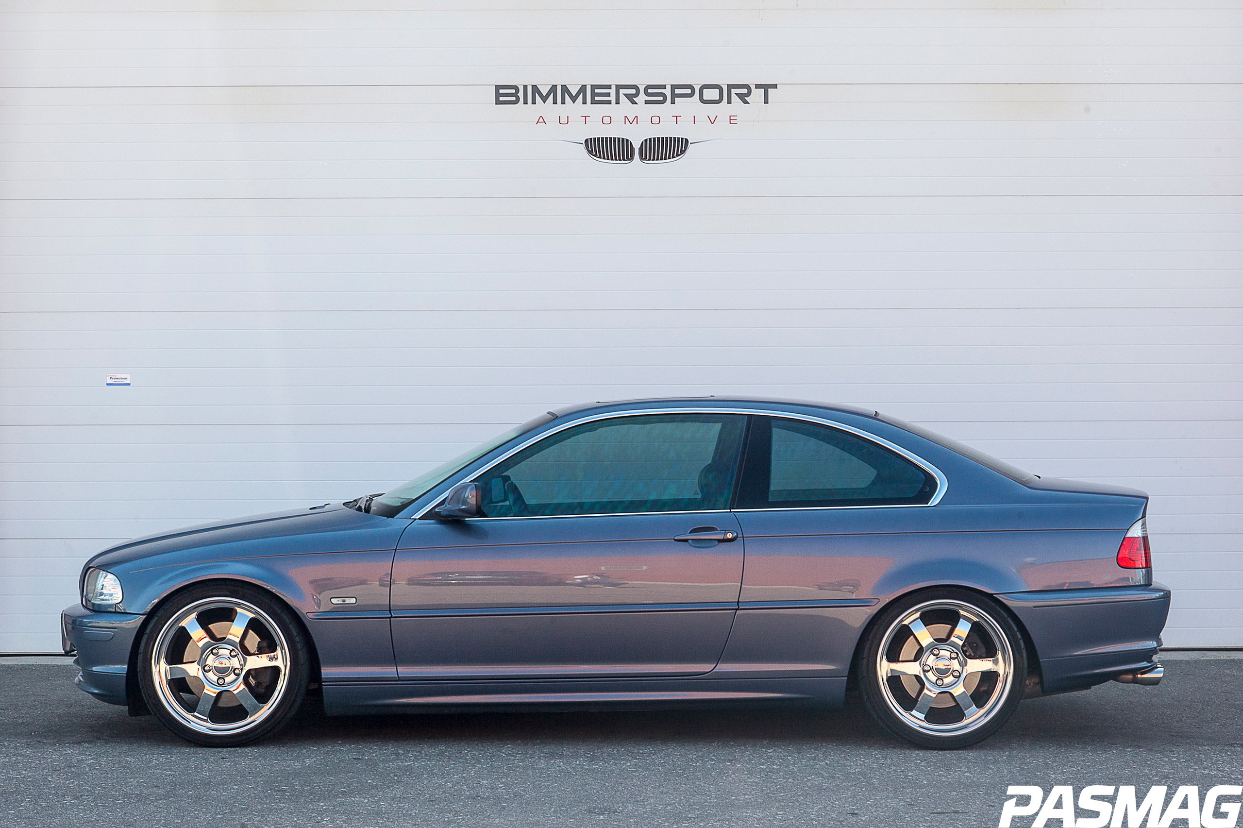 Project BMW 330Ci: HSD Coilovers and Sprint Booster Install - PASMAG