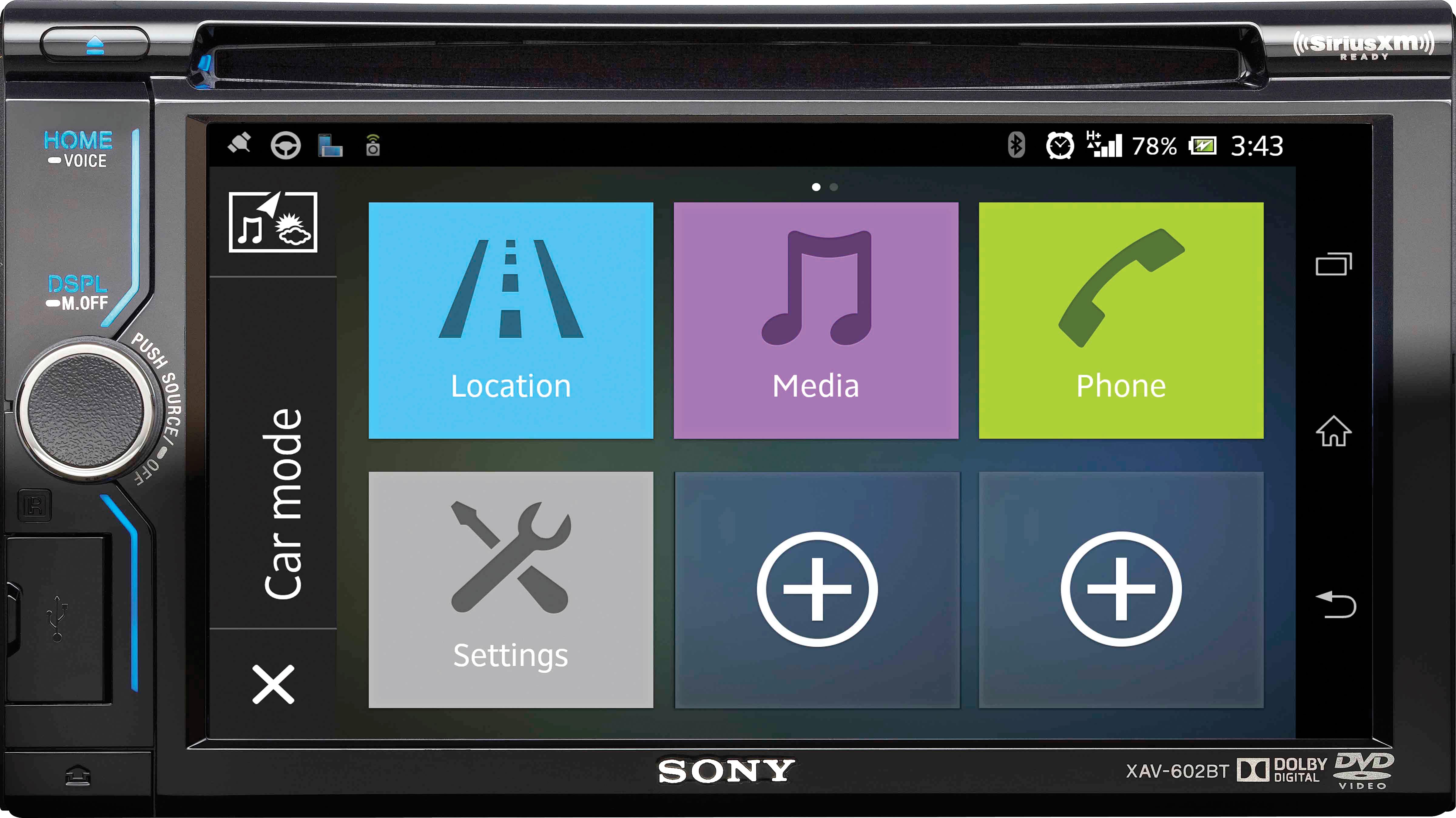 PASMAG | PERFORMANCE AUTO AND SOUND - SONY XAV-602BT Multimedia