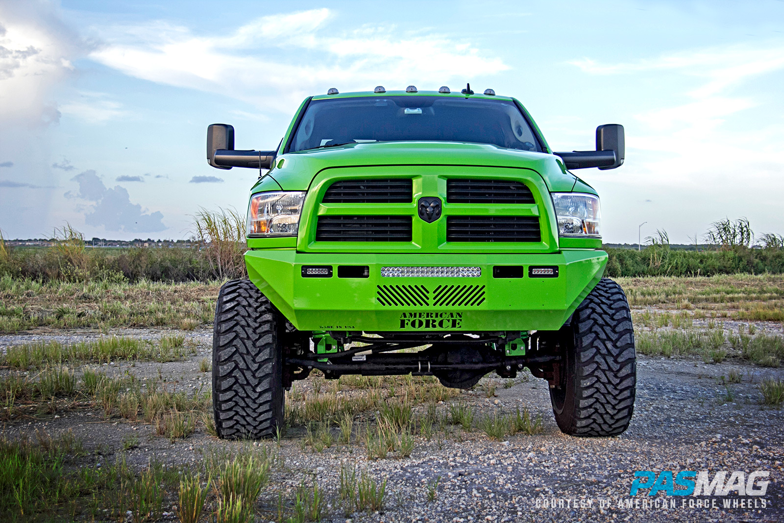 Hulk Smash: Albert Diaz's 2013 Dodge Ram