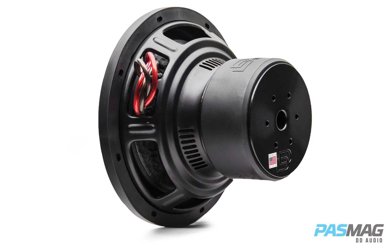 DD Audio TS 1510 3qtr back left PASMAG