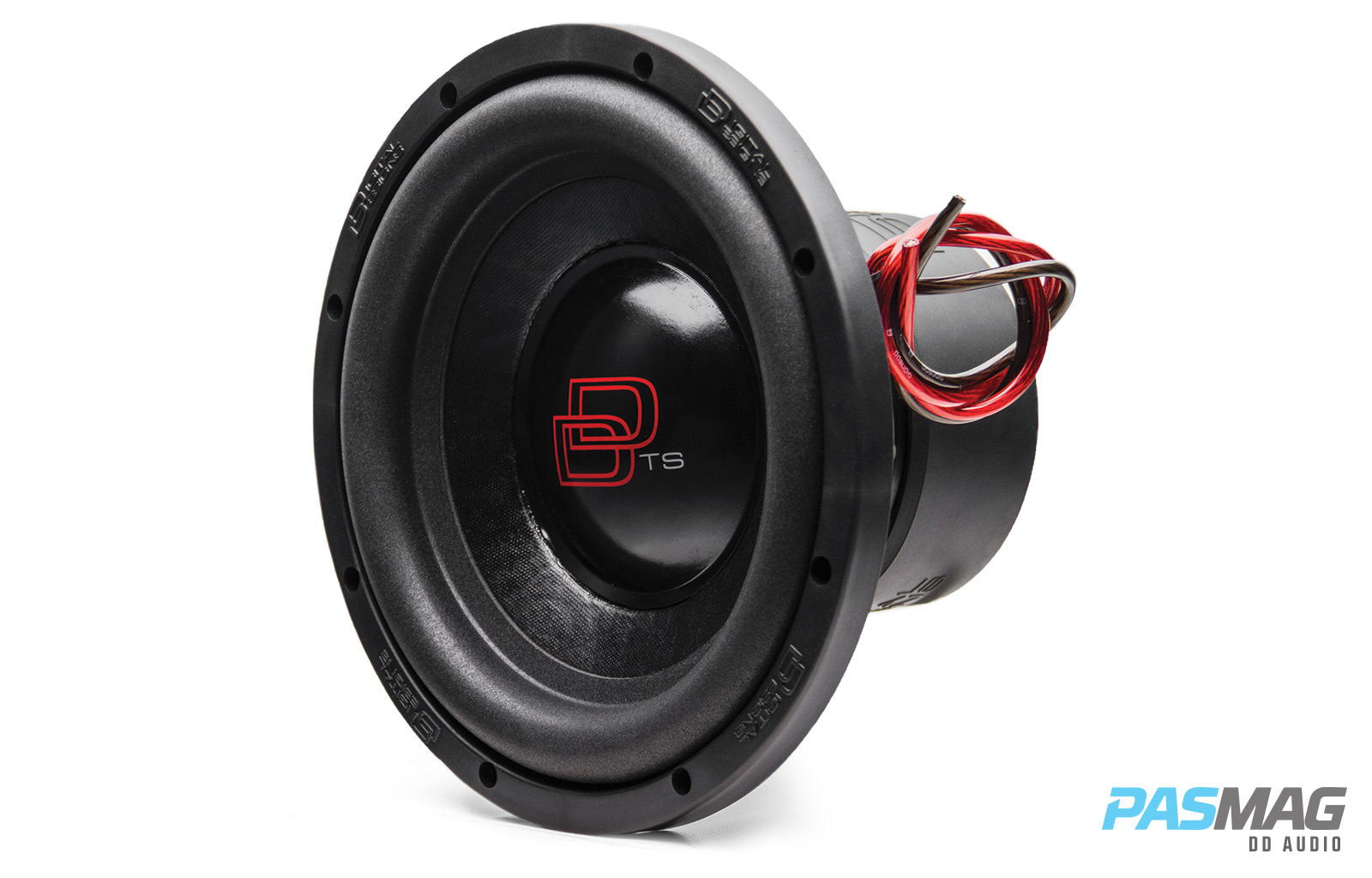 DD Audio TS 1510 3qtr left PASMAG