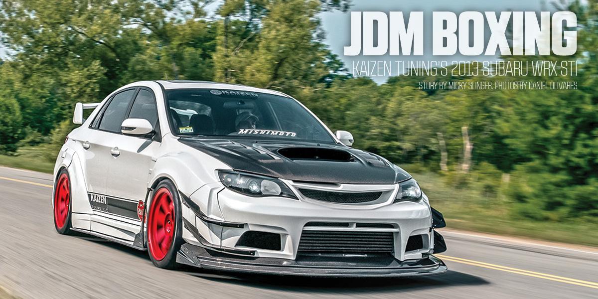 Jdm Boxing Kaizen Tuning S 2013 Subaru Impreza Wrx Sti Limited