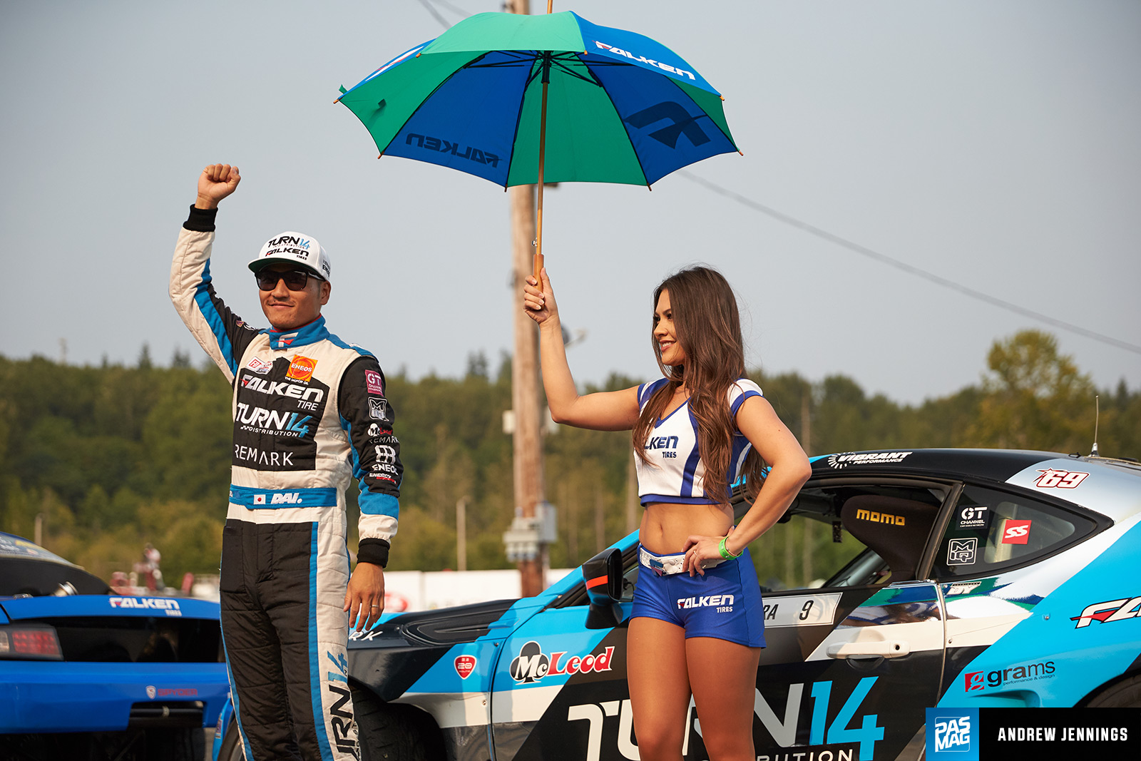 Cool Shirt Systems >> PASMAG | PERFORMANCE AUTO AND SOUND - V8 Welterweight: Daijiro Yoshihara's Falken Tire x Turn 14 ...