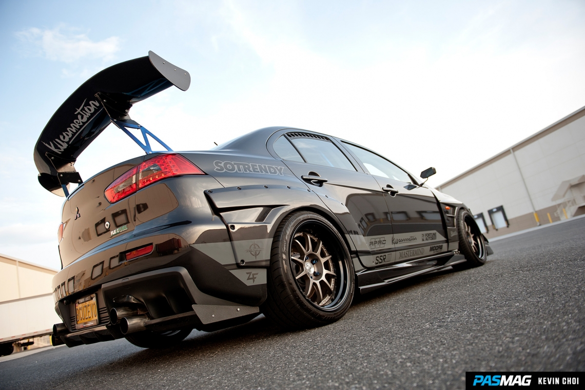 Full Potential: Mark Aquino's 2010 Mitsubishi Lancer Evolution