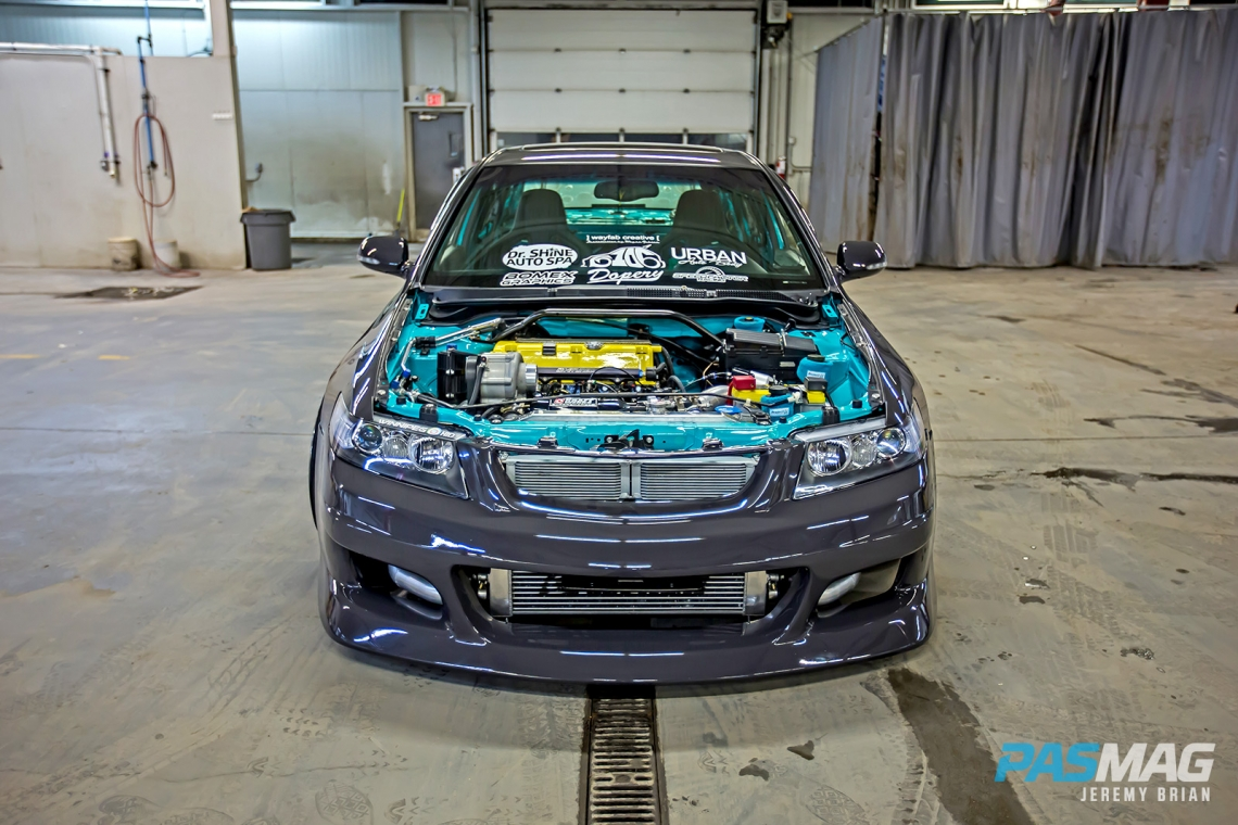 Back To Back Benji Tran S 2004 Acura Tsx Pasmag Is The Tuner S Source For Modified Car Culture Since 1999
