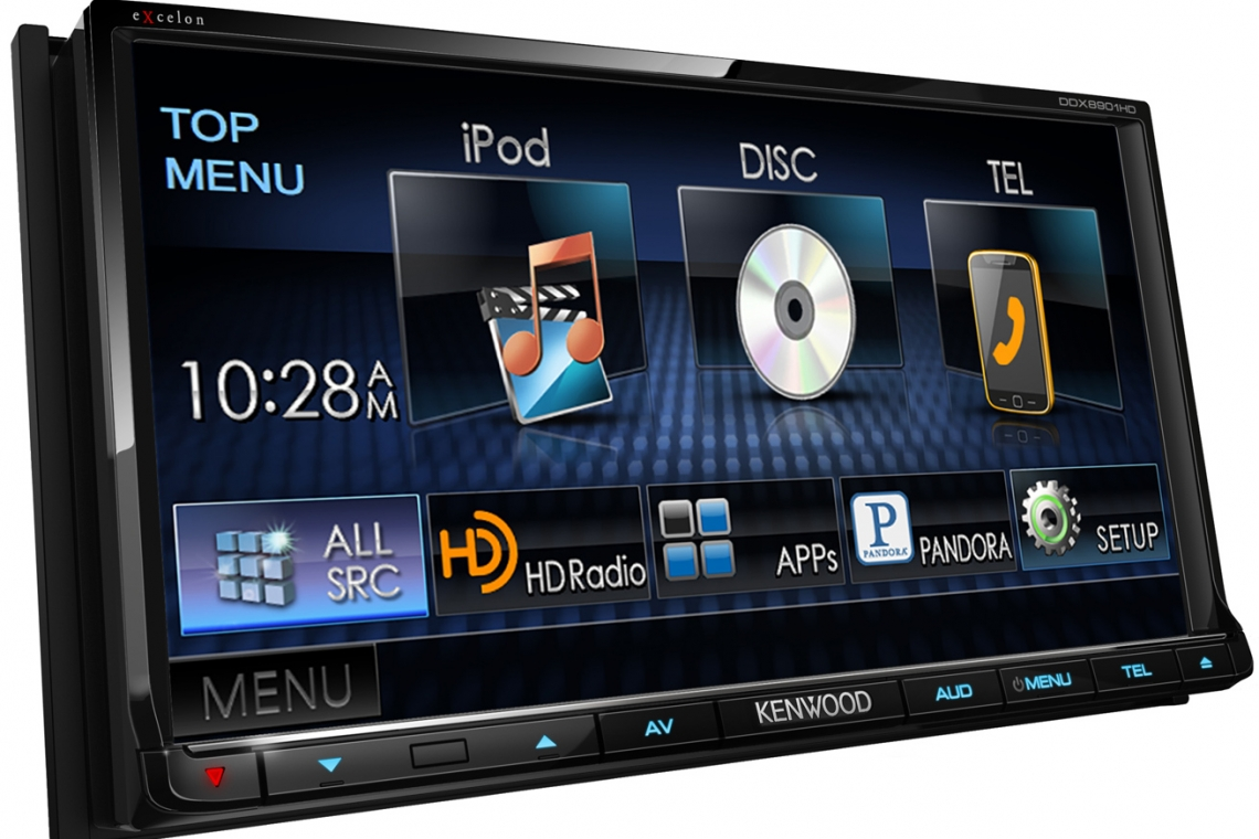Kenwood DDX8901HD DVD Receiver Review