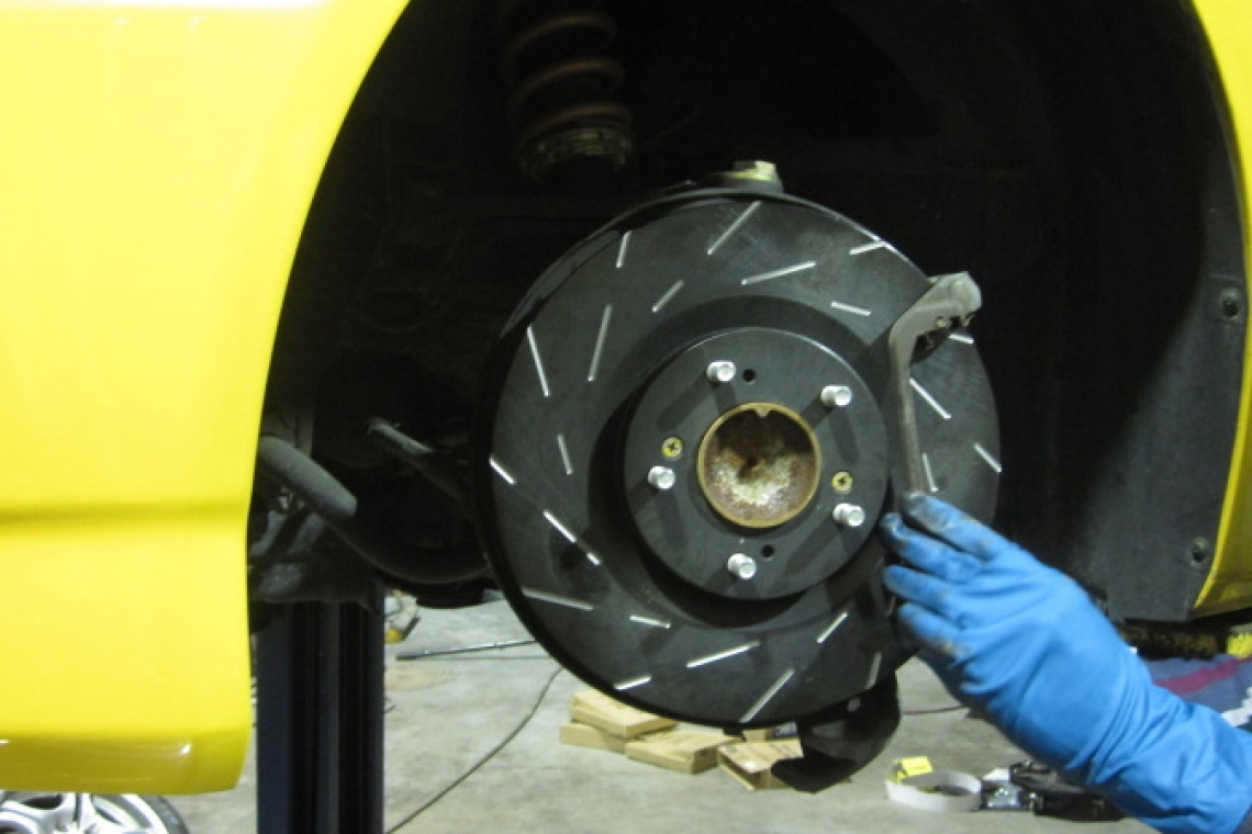 EBC Brakes: Bluestuff Pads and USR Rotors