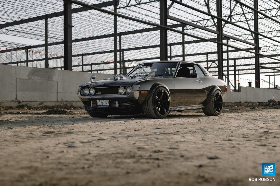 Charged Up: John Nguyen's 1972 Toyota Celica