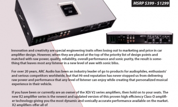 ARC Audio X2 Amplifiers Are Now Shipping