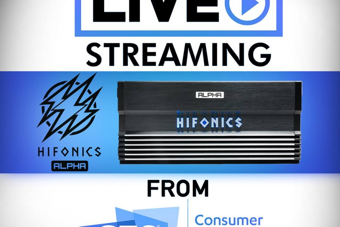 Hifonics LIVE Streaming From 2019 CES In Las Vegas