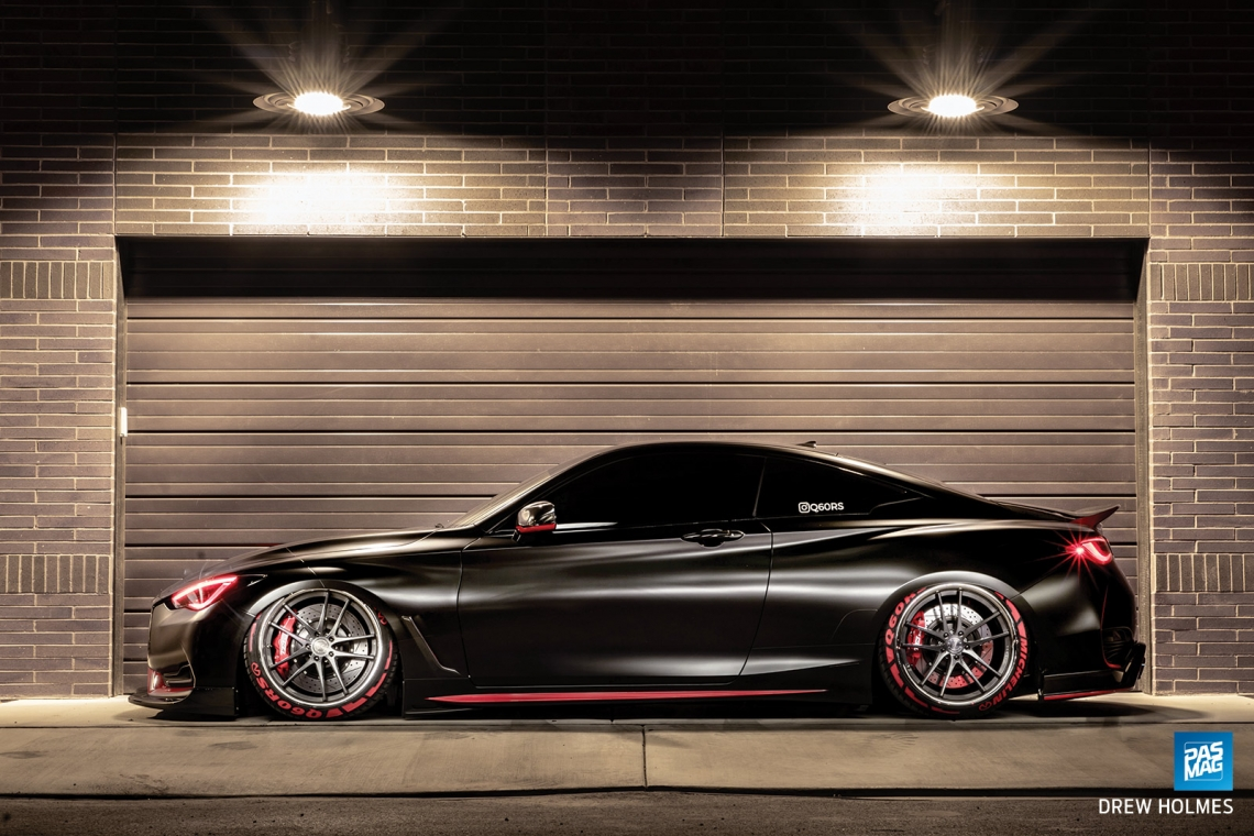 Pushing Boundaries: Nick Ray's 2017 Infiniti Q60 Red Sport