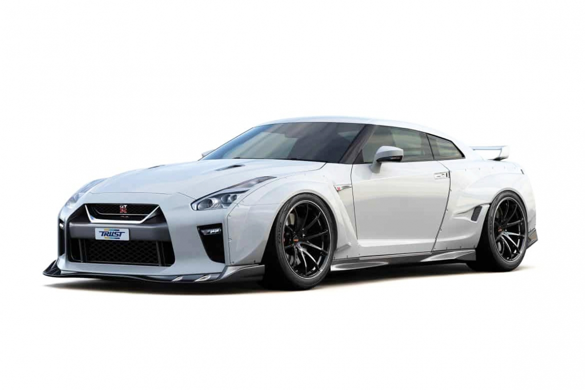 GReddy MY17 R35 GT-R Widebody Aero Kit
